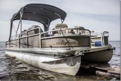 Tinker's Camp Pontoon Boat